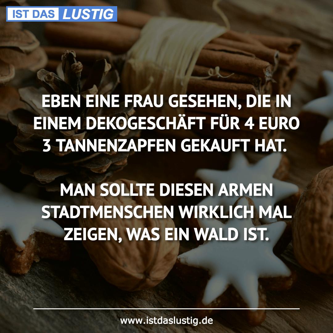 Lustiger BilderSpruch - EBEN EINE FRAU GESEHEN, DIE IN EINEM...