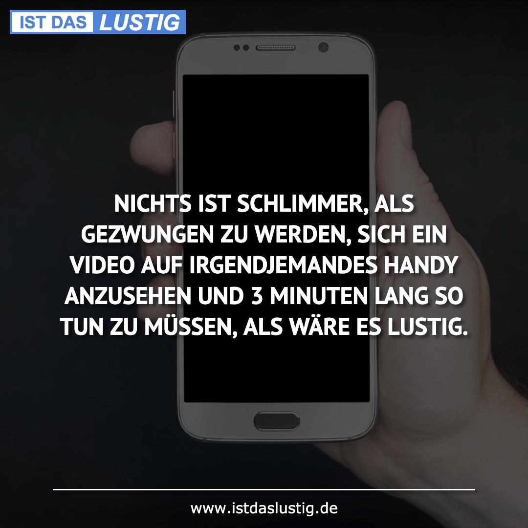 Lustiger BilderSpruch - NICHTS IST SCHLIMMER, ALS GEZWUNGEN ZU WERDEN,...